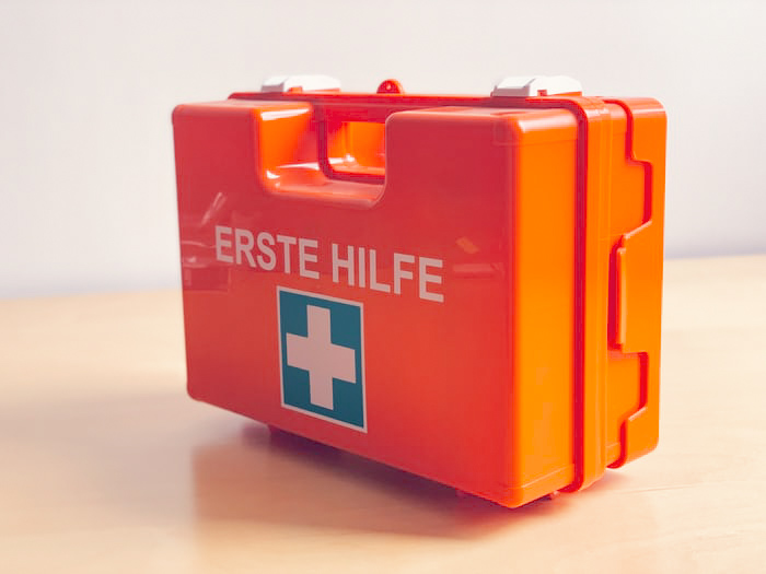 first aid kit is an essential in your hiking items list incase things go south